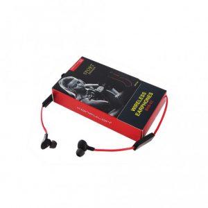 Блютус наушники, Sport Bluetooth Earphone BHS-02 Konfulon, цвет-черные с красным.