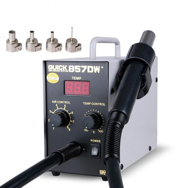 Паяльный фен Quick 857dw Soldering Station