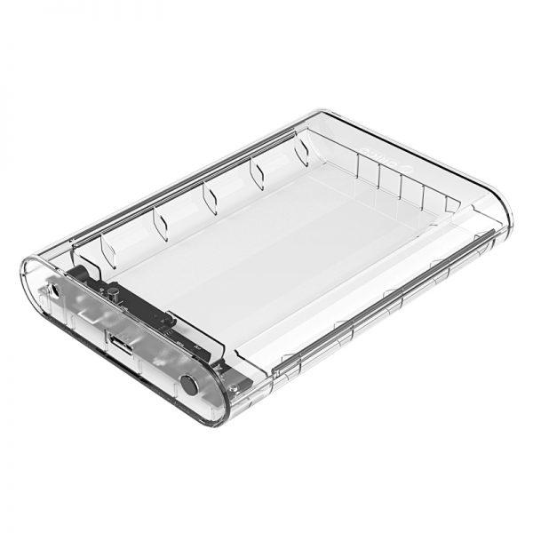 ORICO 3,5 Inch SATA Transparent USB3.0 Hard Drive Enclosure