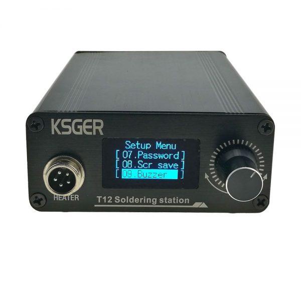 Паяльная станция KSGER 9501 OLED DIY T12 Soldering Iron Station