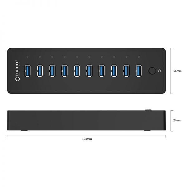 ORICO 10 Port USB3.0 Desktop HUB